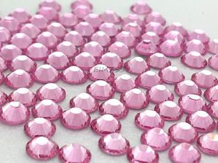 3mm (SS10) LIGHT PINK RHINESTONES