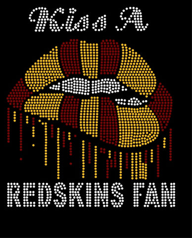 RHINESTONE KISS A FAN NFL BUNDLE Pre-Cut Template Package