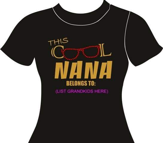 Cool Nanna Rhinestone Digital Download