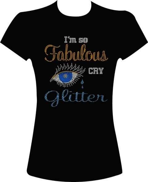 Cry Glitter Rhinestone Digital Download