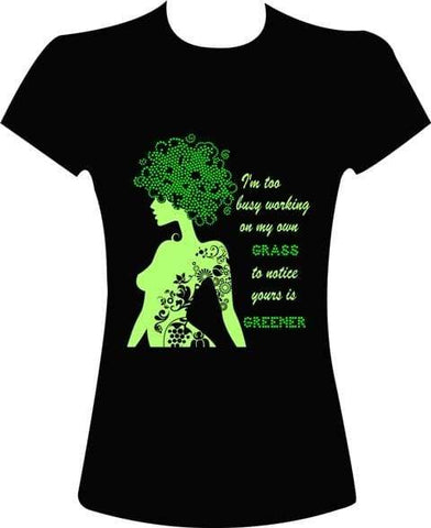 Green Grass Rhinestone Digital Download