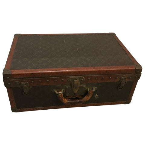 Louis Vuitton Suitcase Trunk with Key
