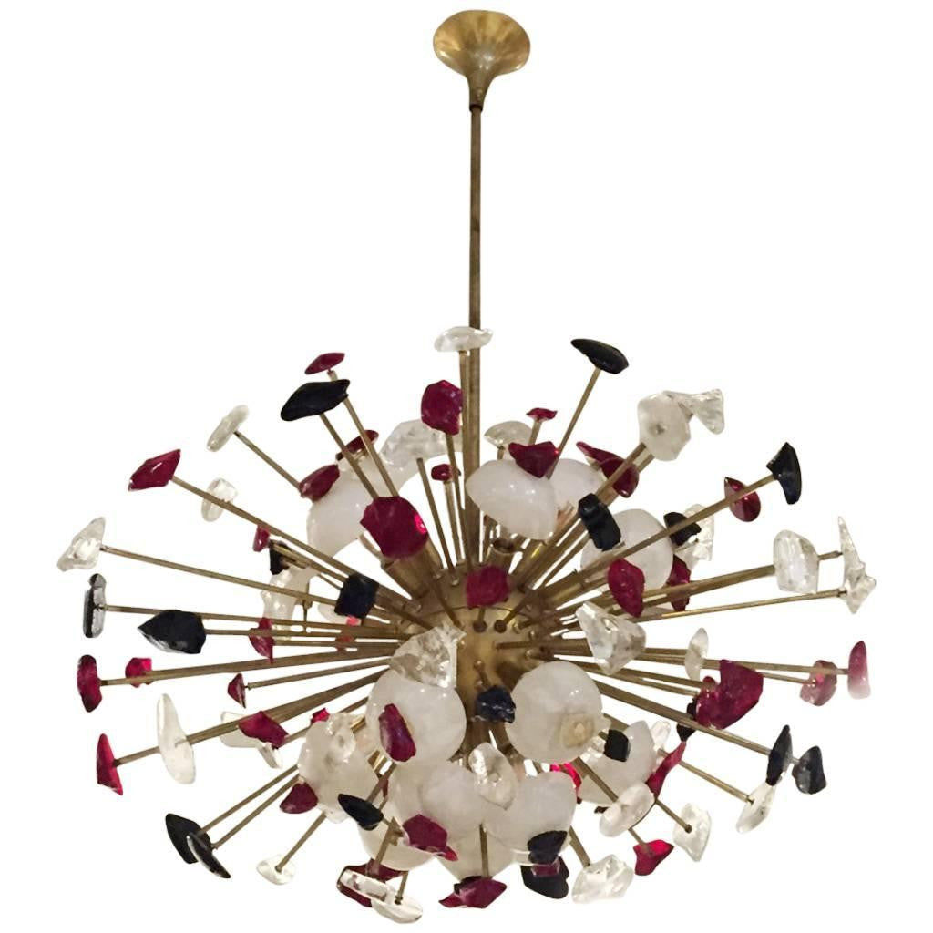 Mid-Century Modern Italian Sputnik Chandelier – 1 of a Kind NJ