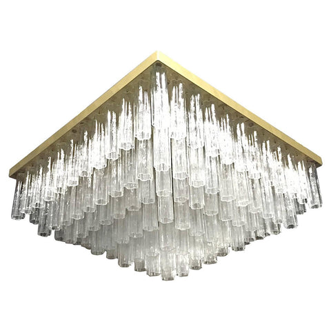 Grand Five-Tier Tronchi Chandelier, Midcentury