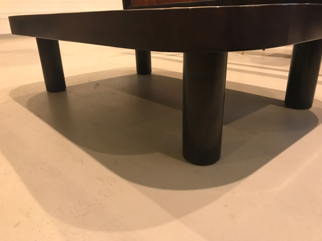 French mid century coffee table signed by roger capron 1 of a french mid century coffee table signed by roger capron geotapseo Choice Image