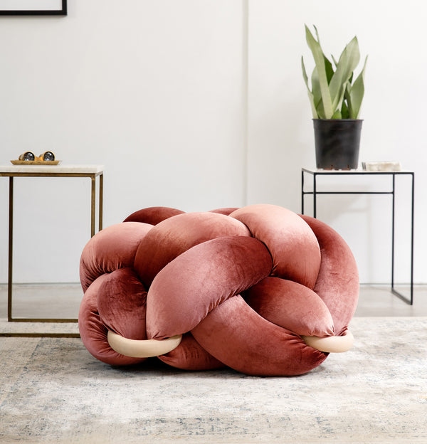 Large Knot Cushions
