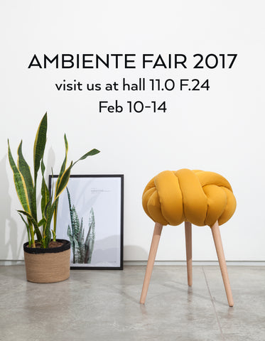 Ambiente fair- here we come!