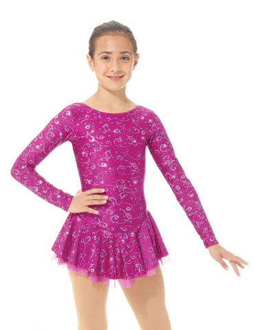 Mondor 664 Born to Skate Shimmery Dress