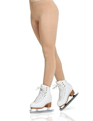 Mondor 911 Rhinestone Footed Tights