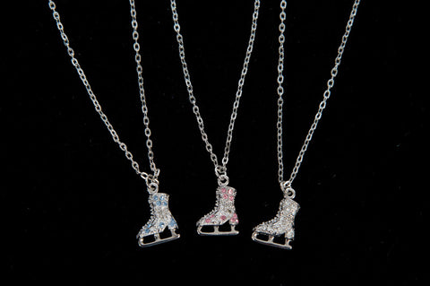 Jerry's Crystal Skate Necklace
