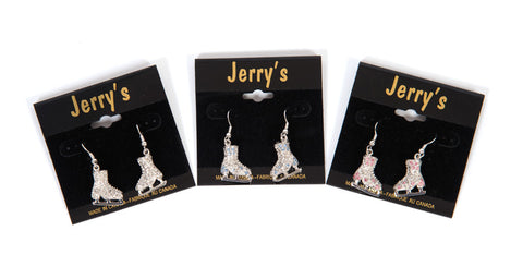 Jerry's Crystal Skate Earrings