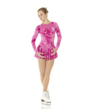 Fantasy on Ice Mesh and Glitter Velvet Dress