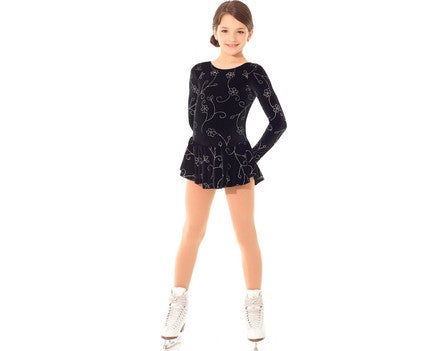 Mondor 2723 Born to Skate Glitter Dress
