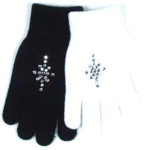 Rhinestone Gloves