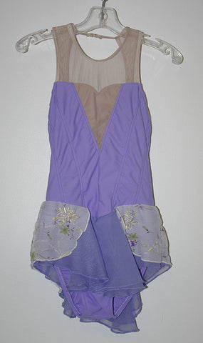 Imperial C707 Purple Dress