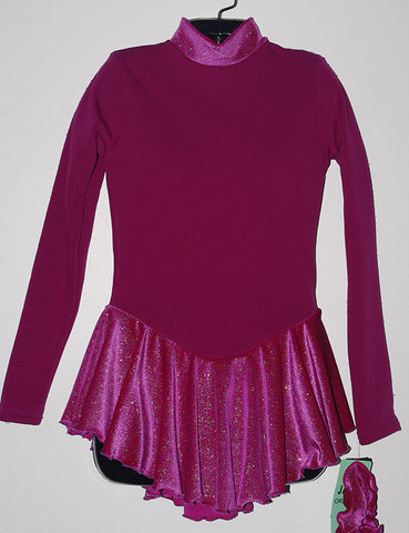 Jerry's 666 Shimmer Fleece Fuchsia Dress