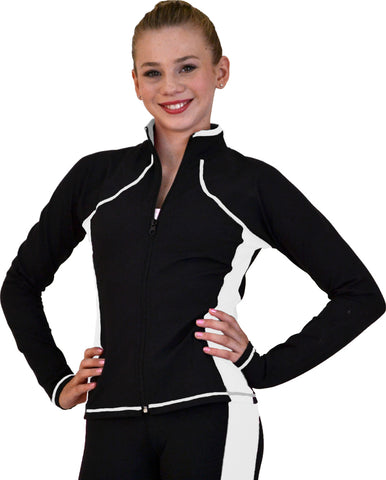 Chloe Noel JS08 Supplex Side Seams Skate Jacket