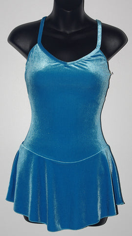 Motionwear 8157, Camisole Velour Dress