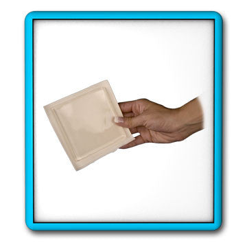 Bunga Blister cushion with adhesive