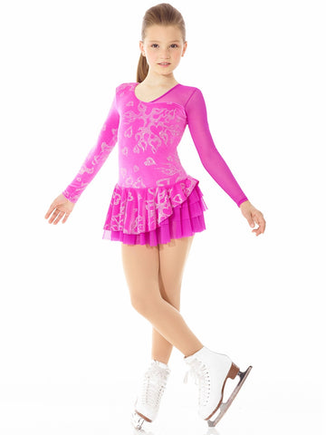 Fantasy on Ice Glitter Velvet Dress