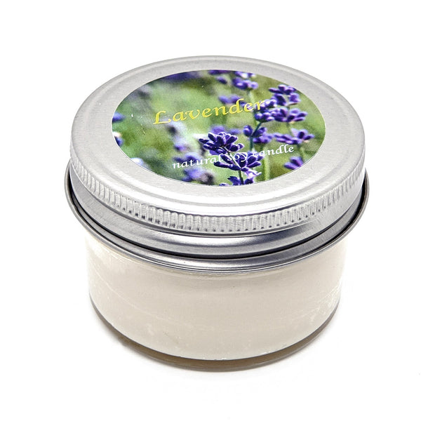 4 oz. jelly jar natural soy wax candle Orla Soy Candle Rhode Island