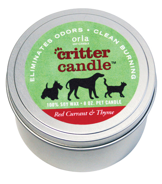 Critter Candles Natural Soy Wax 8 oz. Tin