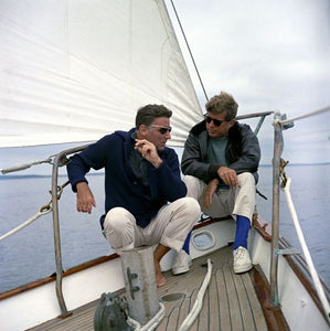 The iconic style of John Fitzgerald Kennedy