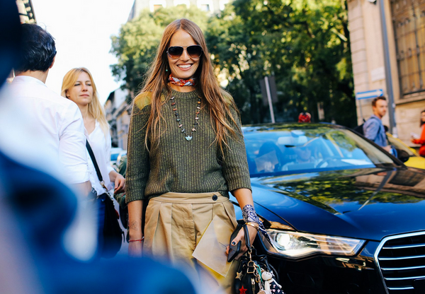 Street style scarf TommyTon | Les Belles Heures