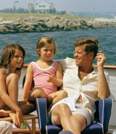 John Fitzgerald Kennedy in the Hamptons | Les Belles Heures