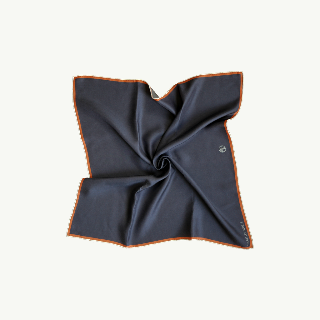 Les Belles Heures San Rocco, 21h17 100% hand rolled cashmere, modal and silk scarf