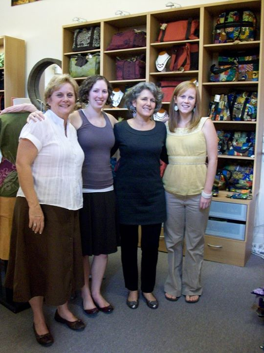 Debbie, Julia, Becky, and Brittany