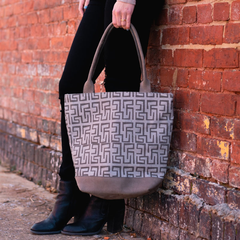 Tamaduni Tote - Kenyan materials and design for a fair trade boutique