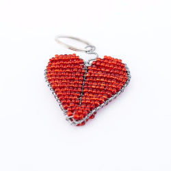 Beaded Keychains - Kenyan materials and design for a fair trade boutique