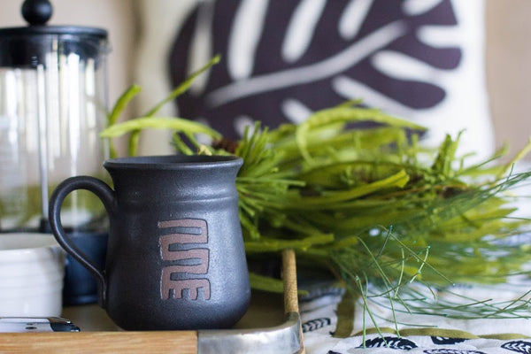 Stoneware Mug - Kenyan materials and design for a fair trade boutique