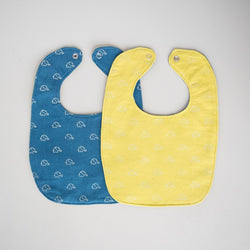 Watoto Baby Bib - Kenyan materials and design for a fair trade boutique