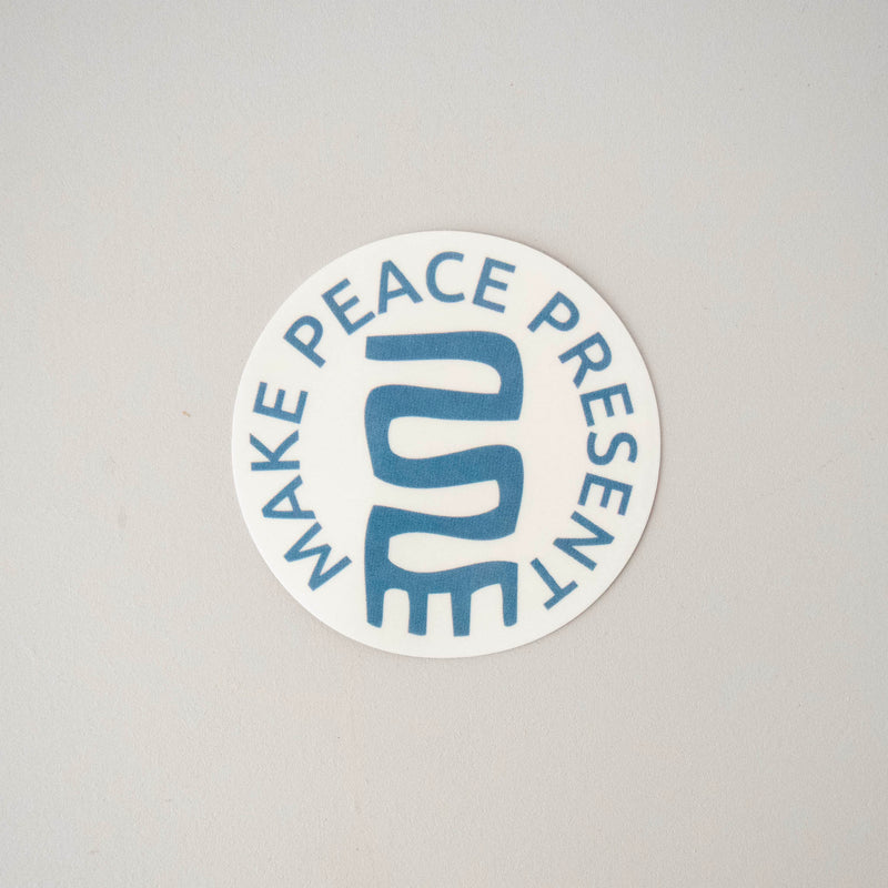 "Amani ""Make Peace Present"" Decals"