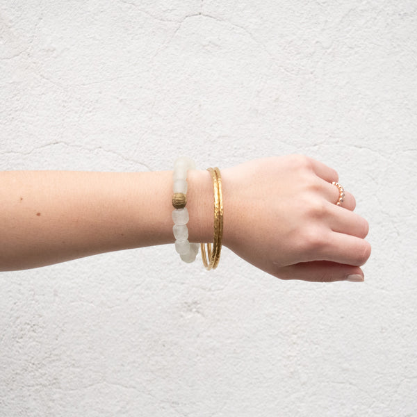 Brass Bangles - Kenyan materials and design for a fair trade boutique