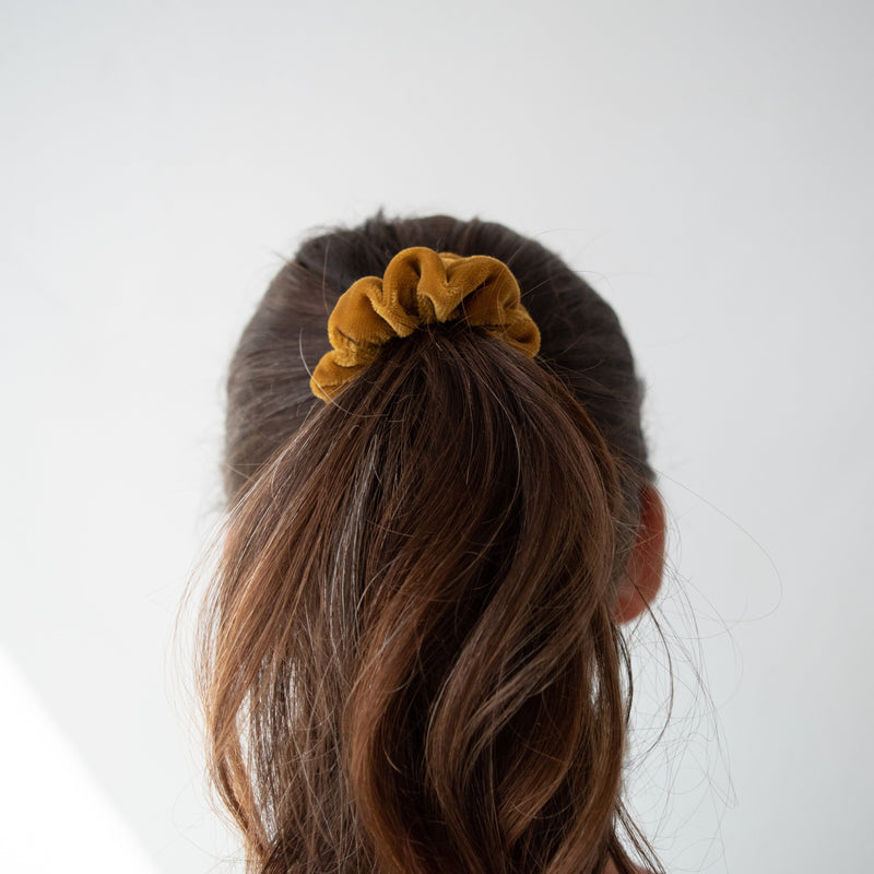 Sunrise Scrunchie Set - Kenyan materials and design for a fair trade boutique