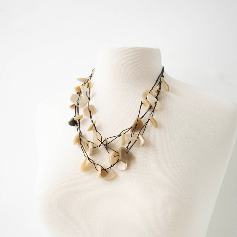Jagged Horn Necklace
