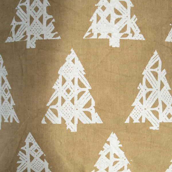 Christmas Tree Pillow - Kenyan materials and design for a fair trade boutique