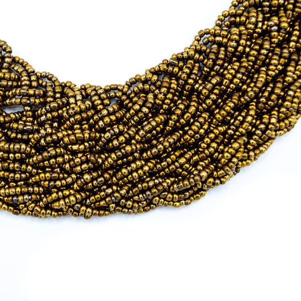 Bead Braided Collar - Kenyan materials and design for a fair trade boutique