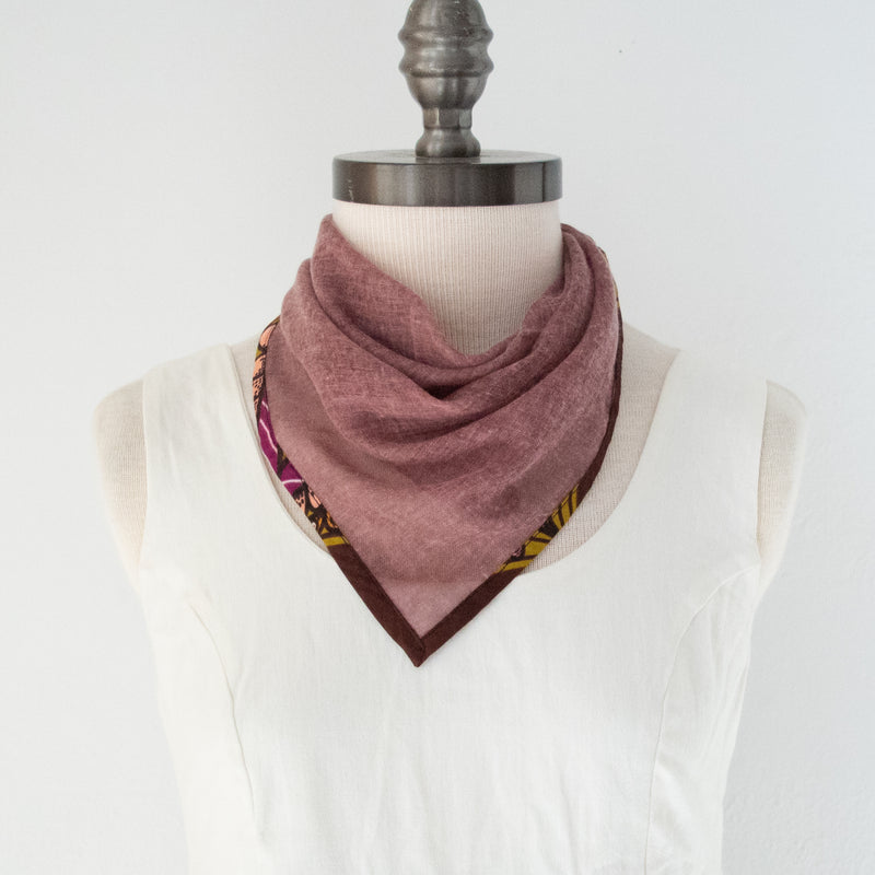 Kerchief Scarf - Kenyan materials and design for a fair trade boutique