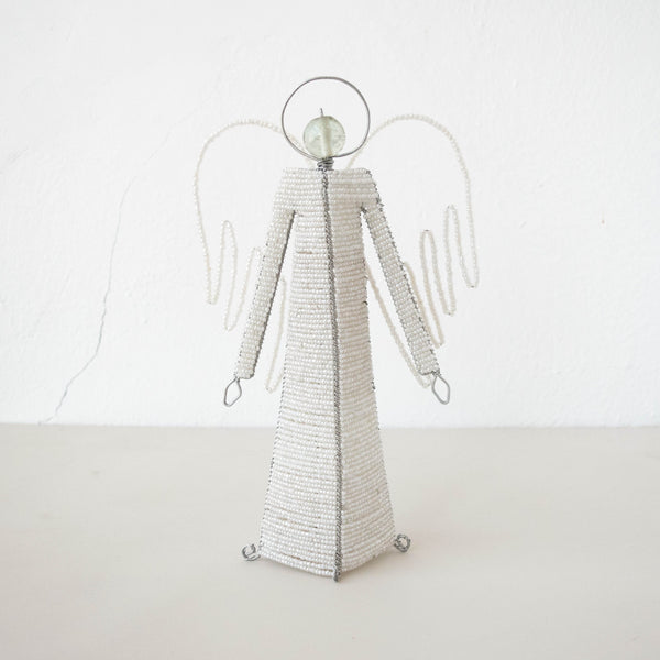 Shanga Standing Angel - Kenyan materials and design for a fair trade boutique