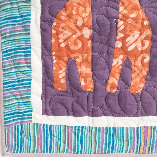Love You Forever Baby Quilt