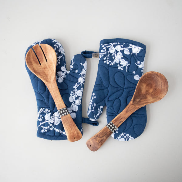 Oven Mitt & Spoon Set | Screen Print
