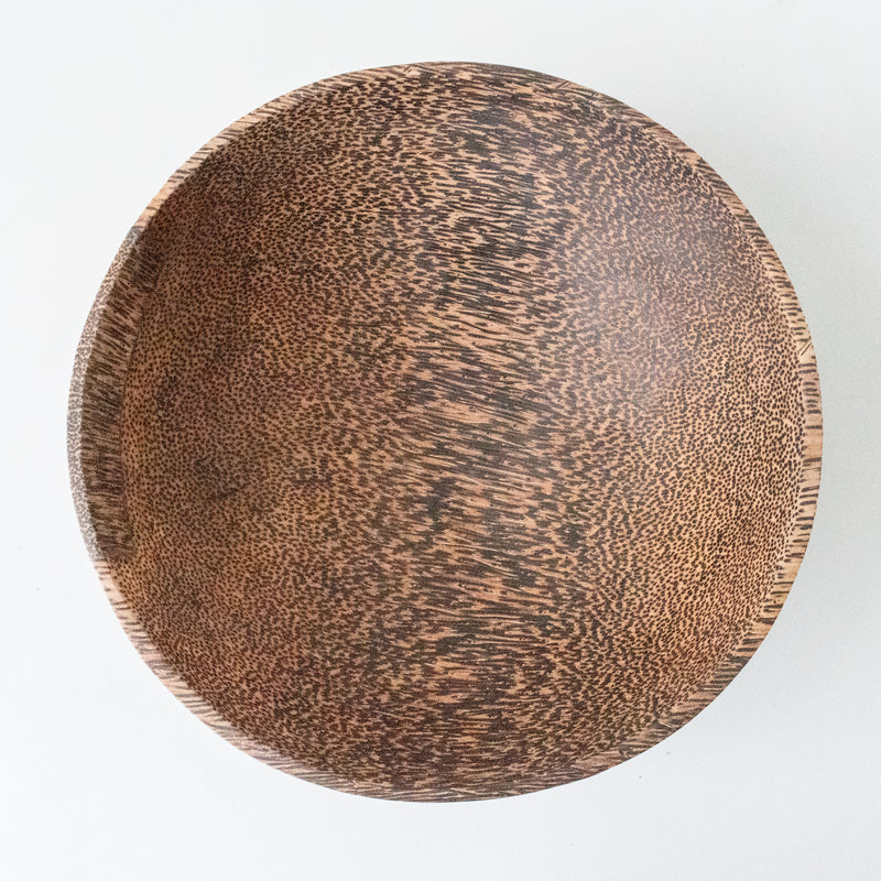 Palm Wood Bowl