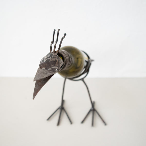 Bird Bottle Holder - Kenyan materials and design for a fair trade boutique