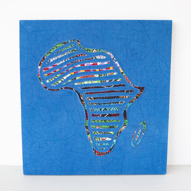 Africa Map Wall Hanging