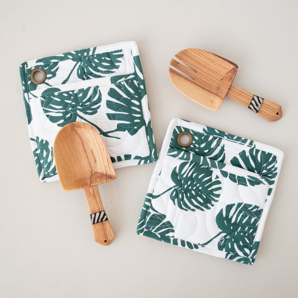 Pot Holder & Spoon Set | Screen Print