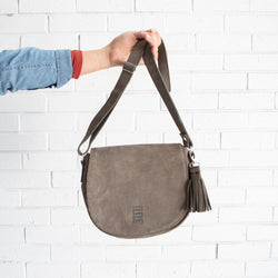 Tassel Crossbody Bag - Kenyan materials and design for a fair trade boutique